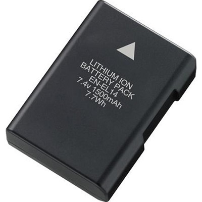 EN-EL14A Rechargable Li-ion Battery for P7000,P7100,D3300,D5300