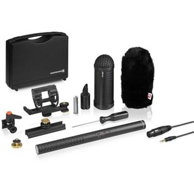 MCE 85 BA Condenser Shotgun Microphone Full Camera Kit