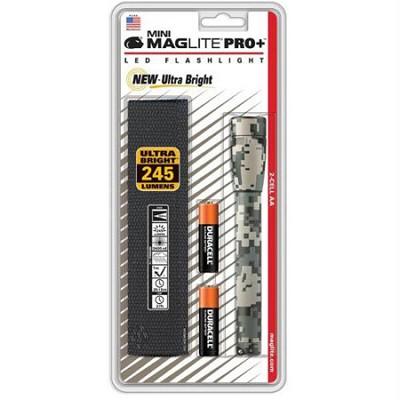 Mini Maglite LED 2 Cell AA Pro+ Flashlight - Universal Camo