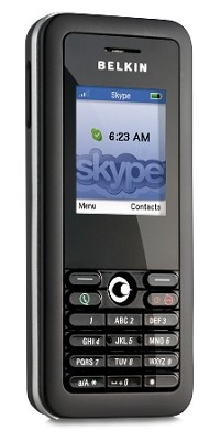 Skype Wi-Fi Handset Phone with Boingo Hot Spot Manager