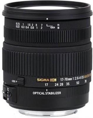 17-70mm f/2.8-4 DC Macro OS HSM Lens for Canon Mount Digital SLR Cameras - OPEN