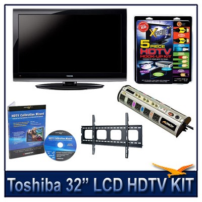32E200U 32` 1080p LCD HDTV + Flat Mount, Hook-Up, Power Protection, Calibration