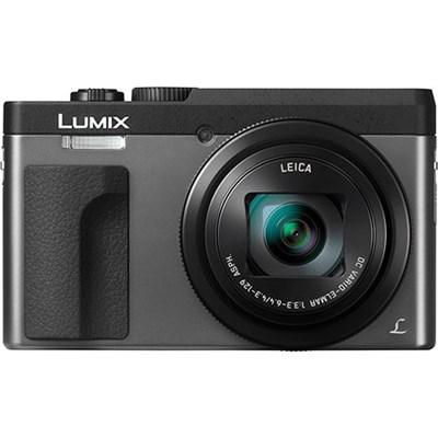 DMC-ZS70S Lumix 20.3 Megapixel 4K Digital Camera Silver w/ Wi-Fi + 3` LCD Screen