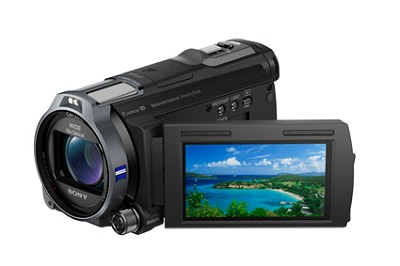 HDR-CX760V HD Camcorder 24.1 MP Stills 10x Opt  Zoom Geotagging - OPEN BOX