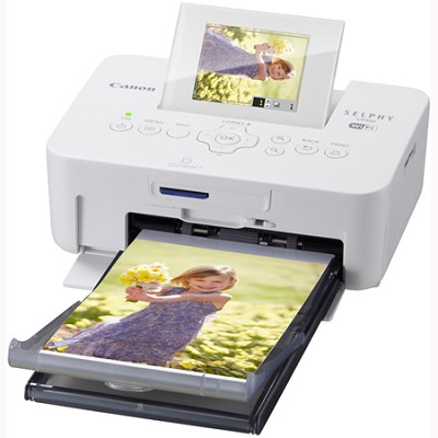 SELPHY CP900 Wireless Compact Color Photo Printer (White) (5960B001AA)