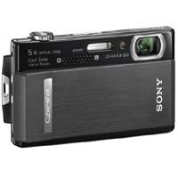 Cyber-shot DSC-T500 10.1 MP Digital Camera 3.5in Touchscreen (Black)-REFURBISHED