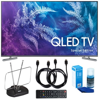 QN49Q6FAMFXZA Special Edition 49` Class Q6F QLED 4K TV (2017) with Antenna Kit