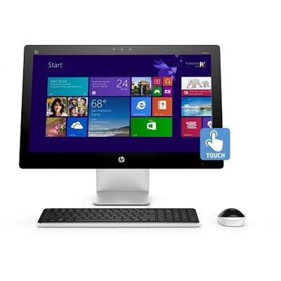 Pavilion 23-q012 23` AMD A8-7410  All-in-One Touchscreen Desktop - Refurbished