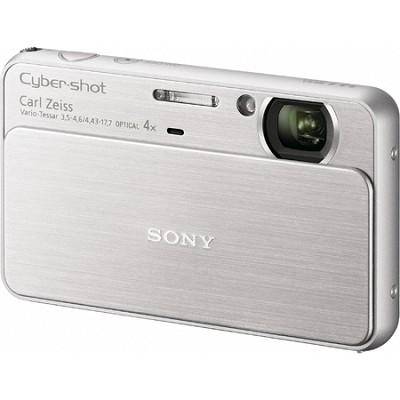 Cyber-shot DSC-T99 14MP Silver Touchscreen Digital Camera - REFURBISHED