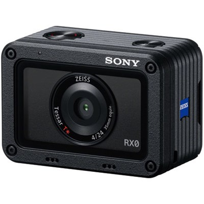 RX0 1.0-type Sensor Ultra-Compact Camera w/ Waterproof + Shockproof Design