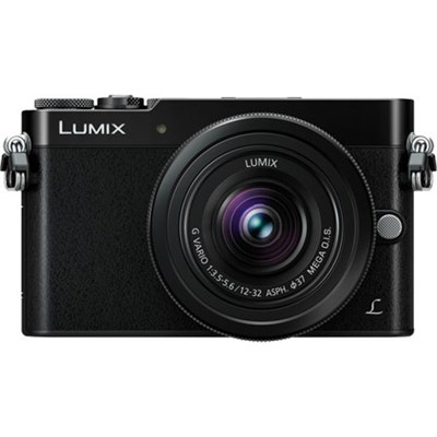 LUMIX GM5 Interchangeable Single Lens (DSLM) Blk Camera Plus 12-32mm - OPEN BOX