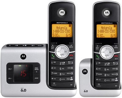 L402 DECT 6.0 Cordless Phone with 2 Handsets