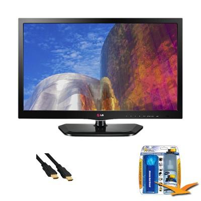 22LN4500 22 Inch 1080p 60Hz EDGE LED HDTV Value Bundle