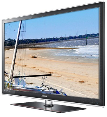 UN55C6300 - 55` 1080p 120Hz 1.2 inch Thin LED HDTV - New TV Back Dented