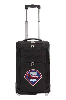 MLB 21-Inch Carry On Luggage, Black - Philadelphia Phillies
