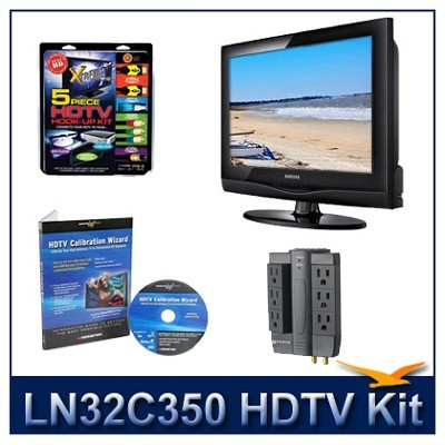 LN32C350 HDTV + High-performance Hook-up Kit + Power Protection + Calibration