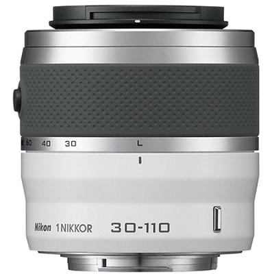 1 NIKKOR 30-110mm f/3.8 - 5.6 VR Lens White