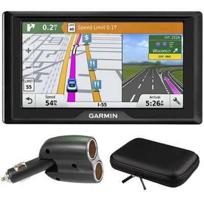 Drive 60LMT GPS Navigator (US and Canada) Charger Bundle