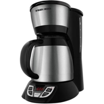 BD 8c Thrml Coffee Maker SSBlk