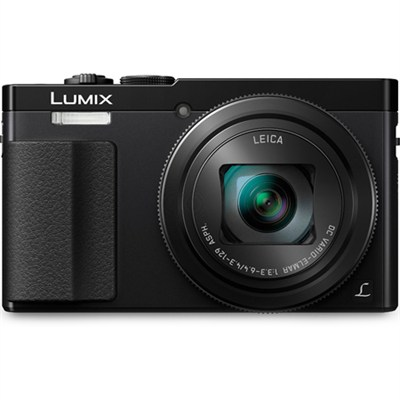 LUMIX ZS50 30X Travel Zoom Black Digital Camera with Eye Viewfinder - OPEN BOX