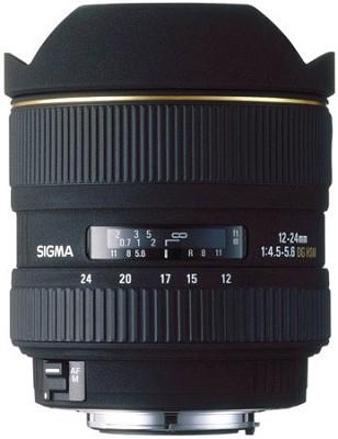 Ultra Wide Angle Zoom 12-24mm f/4.5-5.6 EX DG ASP HSM AF Lens / Canon EOS