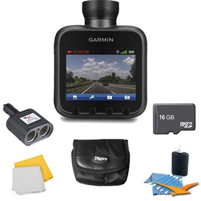 Dash Cam 20 Standalone HD Driving Recorder Plus Deluxe 16 GB Accessory Bundle