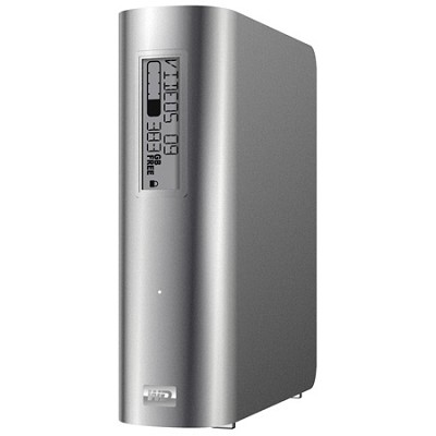 My Book Studio 1TB external drive, Mac, e-label, auto backup, FW800