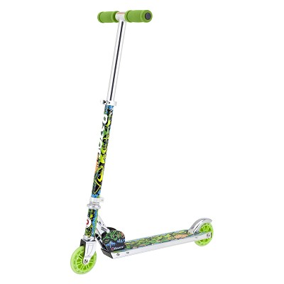 Wild Style A Kick Scooter, (Green) - 13010032
