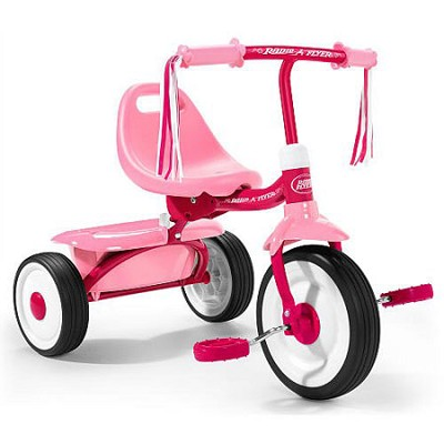 415PS Girl's Fold 2 Go Trike