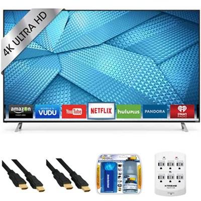 M55-C2 - 55-inch M-Series 120Hz 4K Ultra HD LED Smart TV Plus Hook-Up Bundle