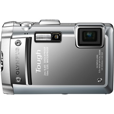 Tough TG-810 Waterproof Shockproof Freezeproof Silver Digital Camera