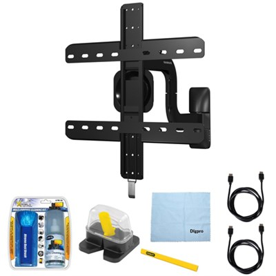 Premium Series Full-Motion Mount for 40` - 50` Flat Panel TV w/ Accessories Kit
