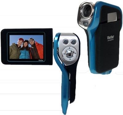 DVR 850W Waterproof Camcorder (Teal)