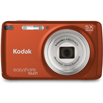 EasyShare M577 Touch 14MP 3.0` Touch Screen Red-Orange Digital Camera