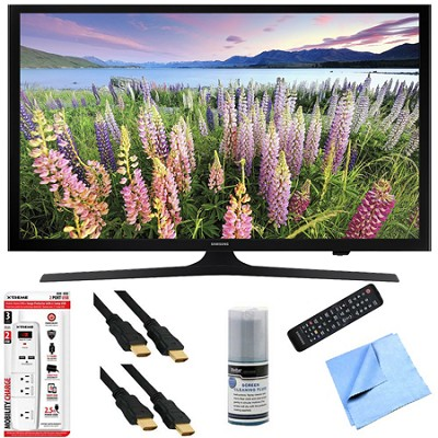 UN43J5200 - 43-Inch Full HD 1080p Smart LED HDTV Hook-Up Bundle
