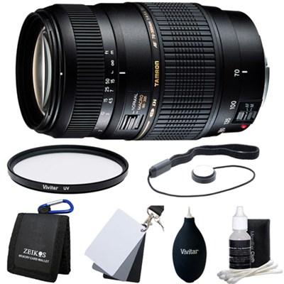 70-300mm 1:2 F/4-5.6 DI LD Macro Lens Kit For Canon EOS