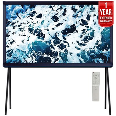 40` Class Serif 4K UHD TV, Dark Blue + 1 Year Extended Warranty
