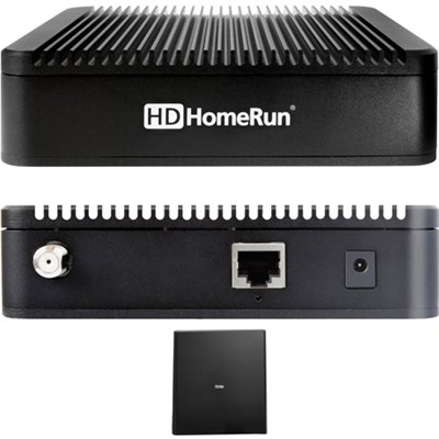 HDHomeRun EXTEND ATSC w/ FREE Broadcast HDTV 2-Tuner + Indoor Antenna