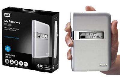 My Passport Studio 640 GB Mac-ready drive
