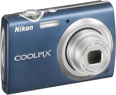 COOLPIX S230 Digital Camera (Night Blue)