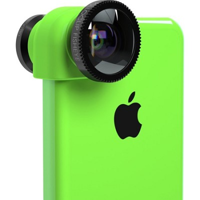3-in-1 Lens System for iPhone 5C - Green/Black