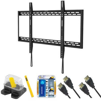 Fixed TV Mount & Set Up Kit for 60`-100` TVs up to 220LB - THR-205S