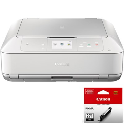 PIXMA MG7720 Wireless Inkjet All-In-One Printer w/ CLI-271 Black Ink Bundle