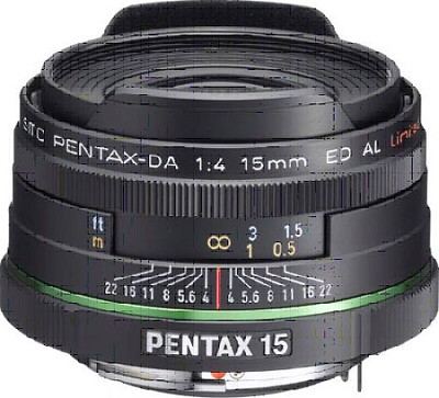 smc PENTAX DA 15mm F4 ED AL Limited