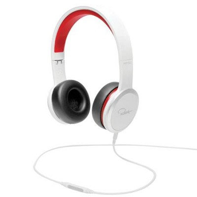 Chambers by RZA Street On-Ear Headphones - White/Red