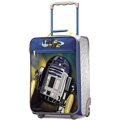 18` Upright Softside Suitcase (Star Wars R2D2)