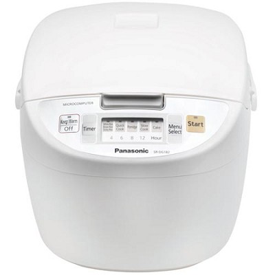 SR-DG182 10-Cup Rice Cooker (White)