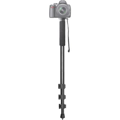 72-Inch Black Photo/Video Monopod Includes Deluxe Soft Case
