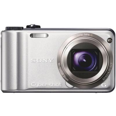Cyber-shot DSC-H55 14.1 MP Digital Camera (Silver) - OPEN BOX