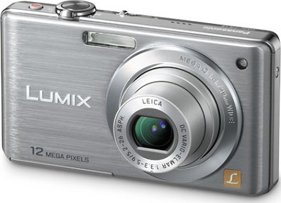 DMC-FS15S LUMIX 12.1 MP Compact Digital Camera w/ 5x Optical Zoom (Silver)